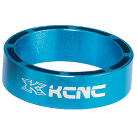 "KCNC Hollow Design Headset Spacer 1 1/8"" 3/5/10/14/20mm blue"